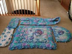Rainbow Fish Crib Bedding Set Rainbow Fish Baby Shower And Theme Fishing Nursery