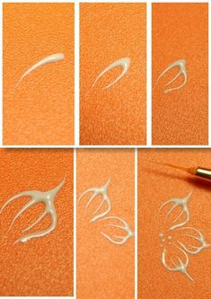 Simple Nail Art Designs That You Can Do Yourself – Your Beautiful Nails Nail Art Hacks, Nail Art Diy, Easy Nail Art, Diy Nails, Nail Nail, Diy Art, Flower Nail Designs, Flower Nail Art, Nail Art Designs