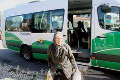 """O """"Vamos à Vila"""" é uma rede de transportes sociais gratuitos que cerca as cerca de 100 povoações do concelho de Alcoutim."""
