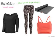 Yoga-Outfit Bio Wellicious, Manduka, OGNX