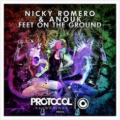 "O progressive rock no novo single ""Feet On The Ground"" do Nicky Romero e a Anouk"