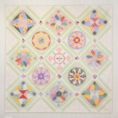 Evergreen Quilt by Sue Daley