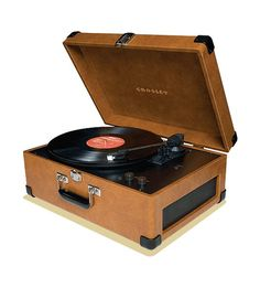 Crosby Record Player a. The price point of the Crosley record play is unbeatable compared to most others. b. The retro look of this with appeal to Dot & Bo brand and storyline of the event.
