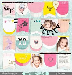 Banners by Bea! Designer @beavalint created this awesome banner layout using our #august2016 #hipkits! What do you think?  @hipkitclub @cratepaper #cutegirl #hkcexclusives #exclusives #hipkitexclusives #hipkitclub #banners #template #papercrafting #scrapbooking #scrapbookingkitclub #kitclub