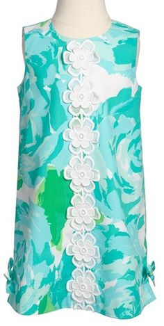 Lilly Pulitzer® 'Little Lilly' Shift Dress (Little Girls & Big Girls)