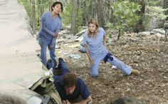 """After last spring's heartbreaking """"Grey's Anatomy"""" season finale, it was hard to imagine that the Seattle Grace doctors will be able to move forward and rebuild their family post-crash."""