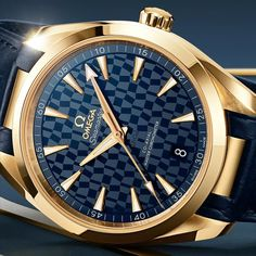 """*Blog Update - Read iN!* #Omega Seamaster Aqua Terra """"Tokyo 2020"""" Available iN 38 or 41mm * Made iN Gold for Winners!!...🎉"""
