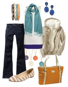"""""""tropical colors"""" by htotheb ❤ liked on Polyvore featuring Nordstrom, Jessica Simpson, Old Navy, ASOS, BKE, Juicy Couture, PASHMINA ART, Wanted Shoes, Sequin and tan"""