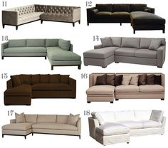 "Ok, the adjective ""stunning"" might be a bit of a stretch for sectionals. These oversized sofas aren't normally considered attractive, much l..."
