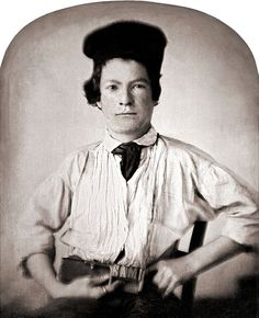 Mark Twain by GH Jones, 1850 aged 15. Mark Twain (Sam Clemens) was a printer's apprentice - he is holding a printer's composing stick