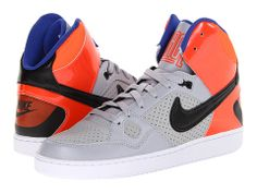 Nike Son Of Force Mid Black/Flash Lime/Electro Purple/Black - Zappos.com Free Shipping BOTH Ways