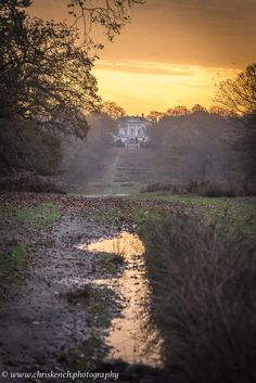The White Lodge . Richmond Park . London