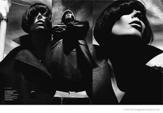 Coco Rocha Dons 60s Style for L'Officiel Singapore September 2014
