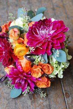 Springtime Floral Wedding Ideas Blooming with Color - bridal bouquet; Fleur Chicago