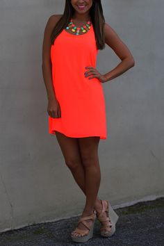 Dreaming Of You Dress: Neon Pink | Hopes... Omg I want to be this tan come August