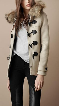 Burberry Duffle Coat....if only i were richer! hahah