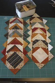 Signature Blocks - brings back such fond memories of a friendship quilt we made in the '90's for Ann Byrne from George, Garden Route - Love and miss you, Anne♥♥♥♥♥