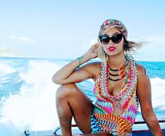 Beyonce and her boho style that she got from Solange