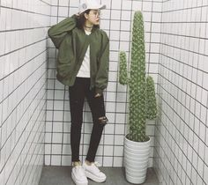 korean, ulzzang, and cap image
