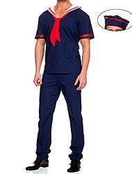 Halloween/Carnaval/Nouvel an Masculin Costumes de carrière/Soldier Costumes Top/Pantalon/Chapeau