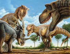 """""""T-rex Attack"""" © Phi..."""