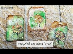 "Recycled Tee Bags ""Tree"" YouTube"
