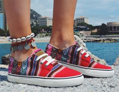 Sneakers for Women: Vibrant culture of Peru Ankle Bracelets, Types Of Shoes, Casual Shoes, Adidas Sneakers, Breakup, Me Too Shoes, Vibrant, Loafers, Shoes