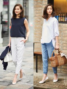 Minimalist Fashion Tips: Womens Minimal Outfits - Biseyre Minimal Fashion Style Tips. Minimal fashion Outfits for Women and Simple Fashion Style Inspiration. Minimalist style is probably basics when comes to style. Casual Work Outfits, Business Casual Outfits, Classy Outfits, Chic Outfits, Dress Casual, Chic Dress, Work Attire, Fancy Dress, Minimalist Fashion Women