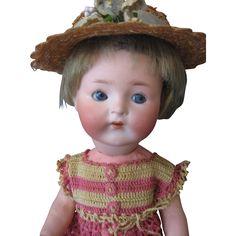 Rare 'GOOGLY' #417 Heubach Koppelsdorf Doll - 12'
