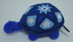 """Janie & Jack Turtle Plush Blue Floral Stuffed Animal 7"""" 2009 #JanieJack http://stores.ebay.com/Lost-Loves-Toy-Chest/_i.html?image2.x=0&image2.y=0&_nkw=janie+turtle"""