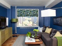 Love the couch in here. Contemporary Living Rooms from Brian Patrick Flynn : Designers' Portfolio 6438 : Home & Garden Television