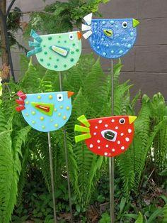 digitalekunst DIY Handwerk Vögel Japanisches Garten-Design How To Buy A Good Sofa Your sofa seats yo Garden Crafts, Diy Garden Decor, Garden Ideas, Garden Projects, Art Projects, Garden Posts, Diy Decoration, Diy And Crafts, Crafts For Kids