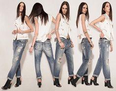 Ellus 2014 Summer Womens Denim Lookbook Collection - Rio de Janeiro Brazil Southern Hermisphere 2014 Verao Mulheres: Designer Denim Jeans Fa...