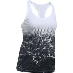 Under Armour Women's Hex Delta Racer Tank Top (White, Size X Large) - Women's Athletic Apparel, Women's Athletic Performance Tops at Academy Sports