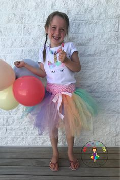 These sets are gorgeous and make the perfect addition to any unicorn themed birthday party. Unicorn Themed Birthday Party, Birthday Party Themes, Complete Outfits, Happy Girls, Special Occasion, Onesies, Flower Girl Dresses, Wedding Dresses, How To Make