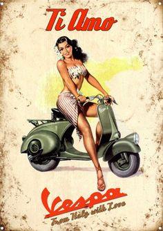 Posters vintage de VESPA