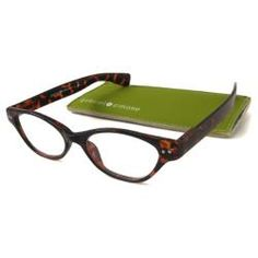 @Overstock - Enhance your sight and attire at the same time with these plastic cats eye reading glasses from Gabriel+Simone. Metal studs accent the side of the frame while a comfortable saddle design bridges your nose. Ultra-thin glasses ensure optimal sight.http://www.overstock.com/Clothing-Shoes/Gabriel-Simone-Womens-Le-Maire-Cat-Eye-Reading-Glasses/6441572/product.html?CID=214117 $13.69