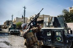 """Only when Mosul in Iraq and Raqqa in Syria fall, can we begin to talk about the beginning of the end of the physical territorial state. We already have plenty of evidence, that ISIS' l…"