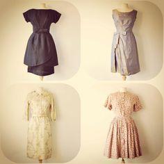 1950s & 1960s vintage dresses