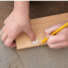 Make a quick measurement: A quarter's diameter is just under 1 inch; a penny's is exactly 3/4 inch | Photo: Laura Moss | thisoldhouse.com