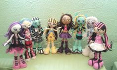 Fofuchas Monster High Con Moldes Wallpapers Real Madrid Wallpaper