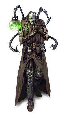 Fantasy Flight Games [News] - Radicals of The Three Ordos Fantasy Wizard, Sci Fi Fantasy, Dark Fantasy, Character Portraits, Character Art, Character Design, Warhammer 40k Rpg, Warhammer Figures, Cyberpunk