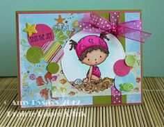Card 2 of AmyR's Summer Card Series by AmyR of Prairie Paper & Ink