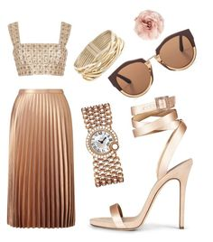 """>"" by karlacsg on Polyvore featuring Cara, Miss Selfridge, Oscar de la Renta, Rosantica, Cartier and Marni"
