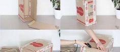 Diy, Home Decor, Easy Crafts, Carton Box, Do It Yourself, Homemade Home Decor, Bricolage, Interior Design, Handyman Projects