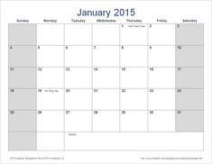 ms word calendar template