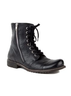 Walter - Leather, Lace up Mid Boot
