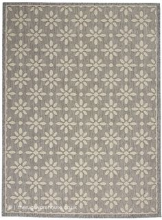 Creamy flowers pop on this charming area rug from the Cozumel Collection. High-low loop pile adds texture and dimensionality. Narrow self-border; beautifully versatile in soft grey with cream floral detail. Modern Outdoor Rugs, Indoor Outdoor Area Rugs, Modern Rugs, Crossed Fingers, Outdoor Living Areas, Cozumel, Grey Rugs, Pillow Design, Colorful Rugs