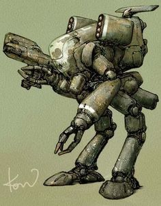c909bc3b497b Anime News Network, Sci Fi Models, Dieselpunk, Sci Fi Art, Cool Drawings