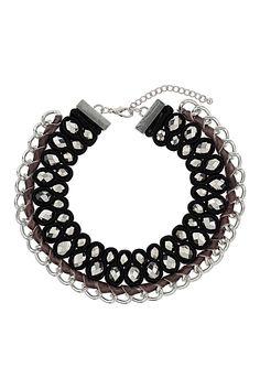 Premium Velvet Facet Collar - Necklaces - Jewellery - Bags & Accessories - Topshop